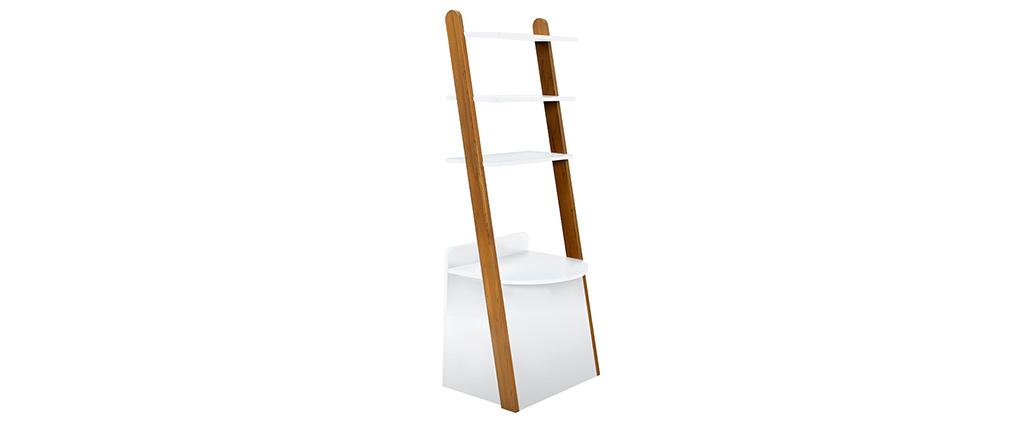 Kinder-Regal Schreibtisch weiß