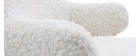 Kinder-Schaukelstuhl Lammfell-Optik SHAUN