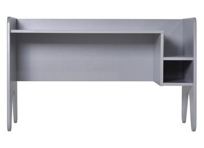 Kinder-Schreibtisch Holz Grau matt lackiert KIDDO