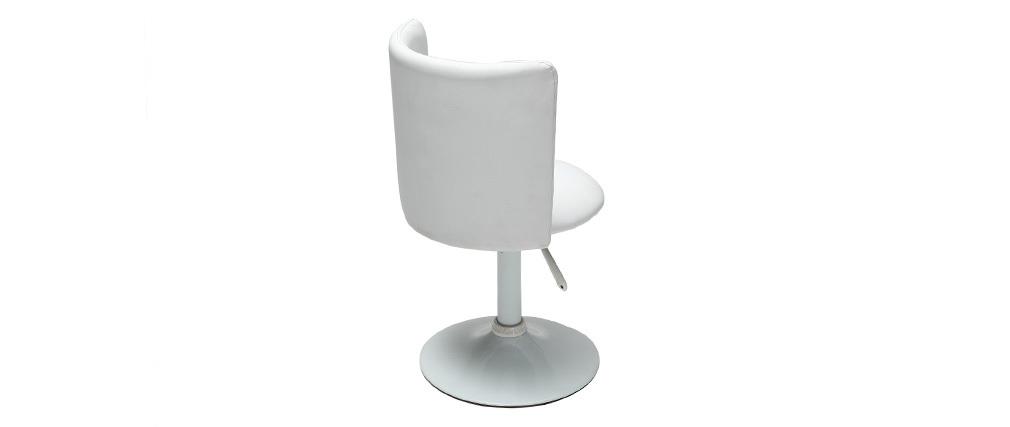 Kinder-Schreibtischstuhl Weiß NEW ROCK