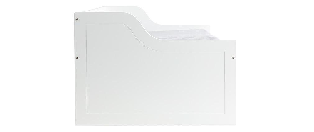 Kinderbett mit Schubladen 90x190 CLEO Weiß
