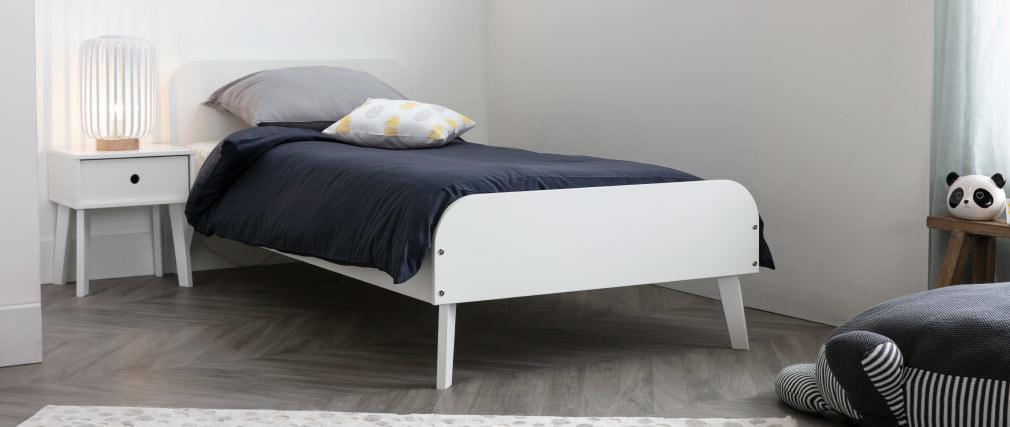 Kinderbett Weiß BIMBO
