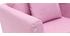 Kindersessel skandinavisch abnehmbarer Stoff Rosa BABY OSLO