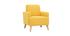 Kindersessel skandinavisch Gelb BABY ISKO