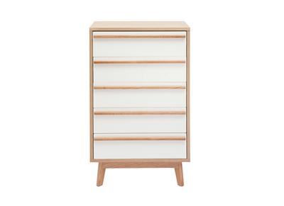 Kommode/Semainier 5 Schubladen skandinavisches Design HELIA