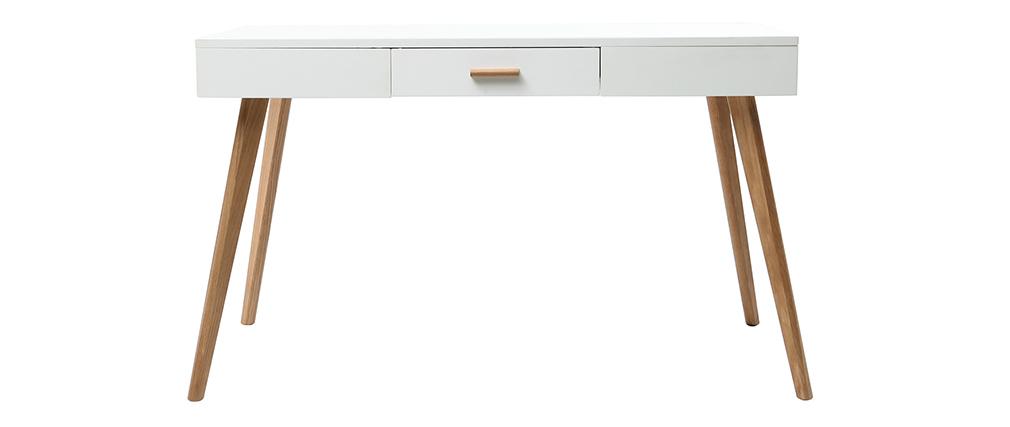 Konsole Eiche und Weiß 120 cm GILDA