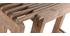Konsole erweiterbar aus Mangoholz SHUTTERS