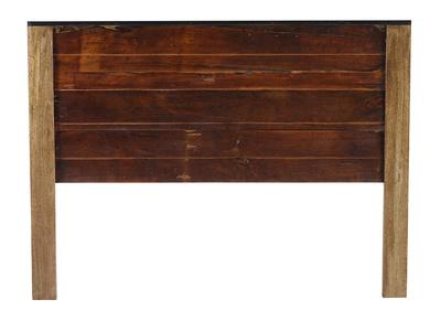 Kopfende 160 x 200 recyceltes Holz MADRAS
