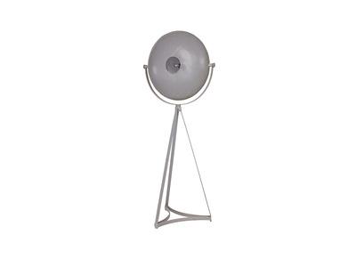 Lampe Industrie-Stil Metall Grau BLOUM