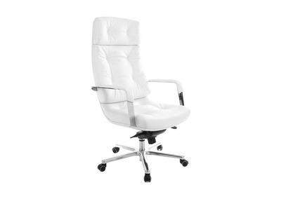 Bürostuhl weiß leder  Bürostühle aus Leder - Miliboo