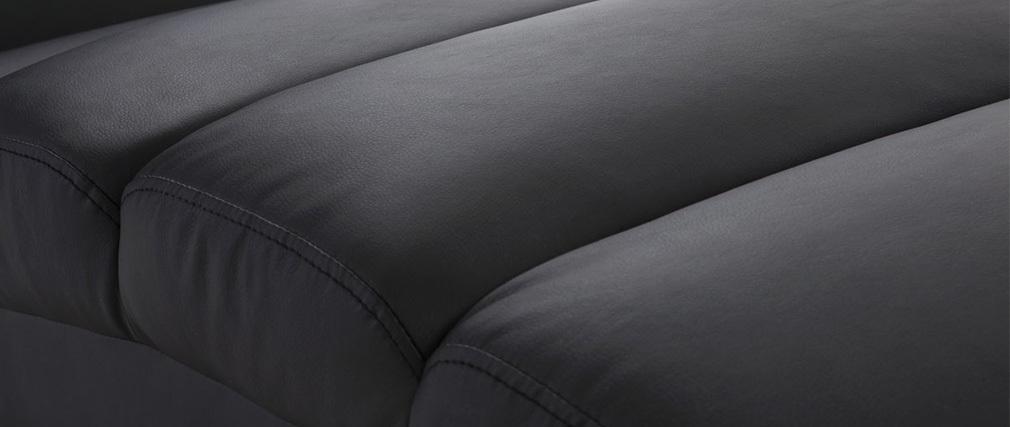 Liegestuhl/Design-Stuhl TAYLOR Schwarz