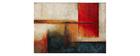Mehrfarbiger Teppich 160 x 230 cm ABSTRAIT