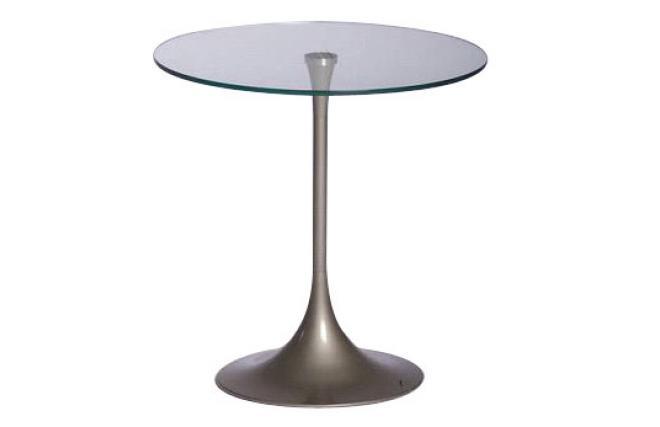 Moderner kleiner runder tisch beistelltisch wiky aus for Runder kleiner tisch