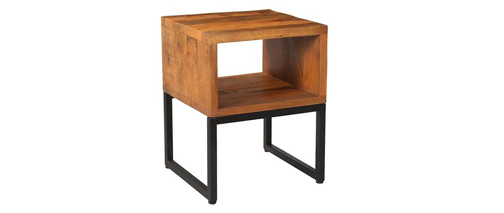 Nachttisch aus Mangoholz CHENY