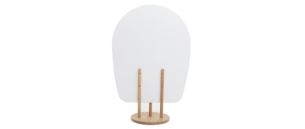 Paravent skandi-japanisch weißes Holz JAPANSK