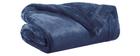 Plaid Polyester Blau 150 x 200 cm FERO