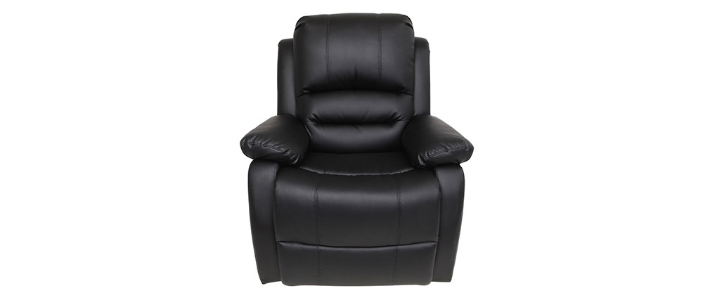 Relax-Sessel manuell verstellbar Schwarz TED