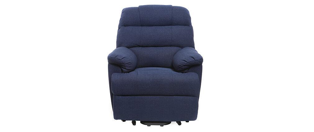 Relaxsessel elektrisch mit Aufstehfunktion PHOEBE Blau