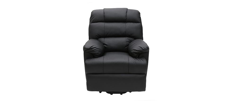 Relaxsessel elektrisch mit Aufstehfunktion PHOEBE Schwarz