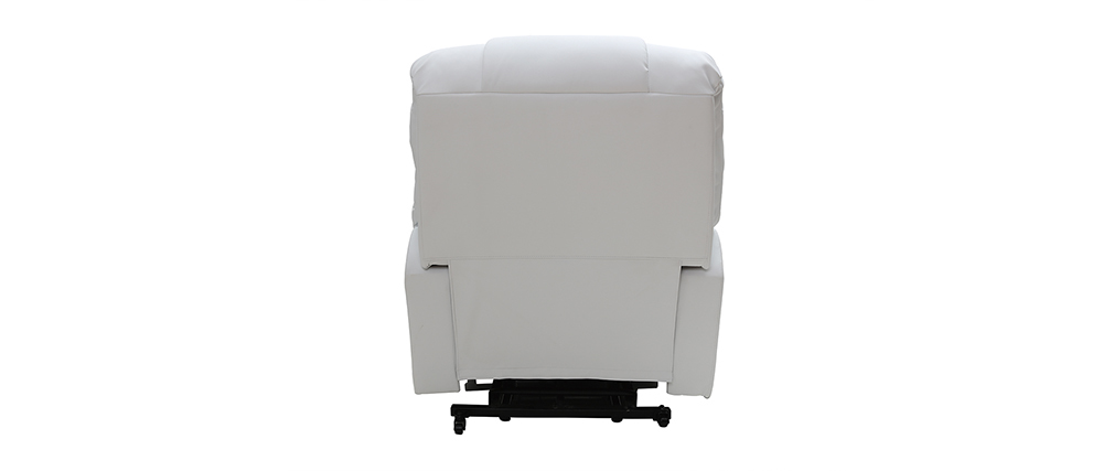 Relaxsessel elektrisch mit Aufstehfunktion PHOEBE Weiß