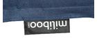 Riesensitzkissen aus blauer Baumwolle Jeans BIG MILIBAG