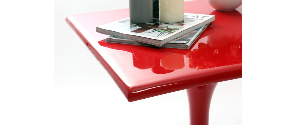 Roter Zusatztisch LUNA
