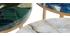 Runder Couchtisch aus blauem Achat D40 cm PIETRA - Miliboo & Stéphane Plaza