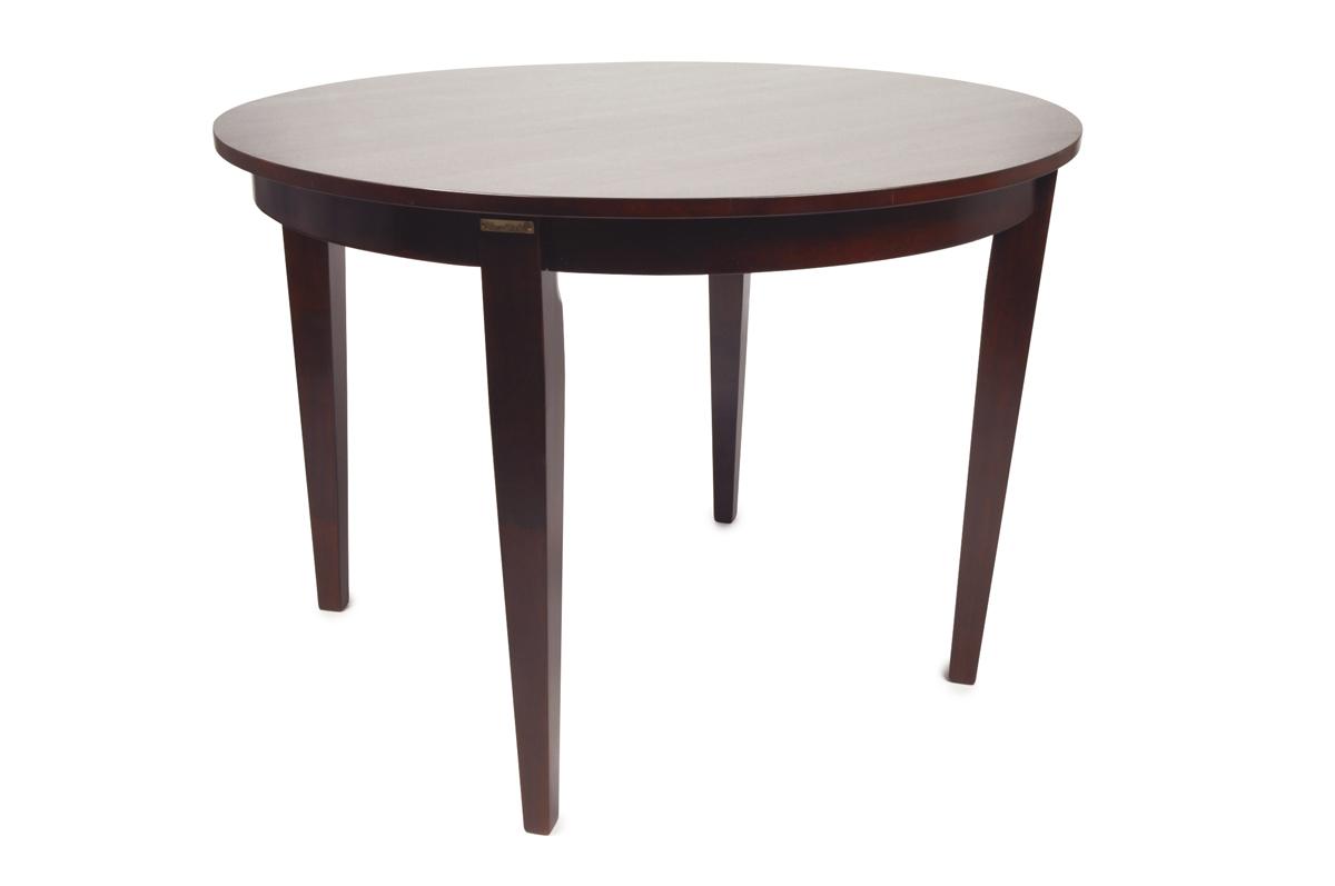 runder esstisch sara aus malaysischem eichenholz farbe wenge miliboo. Black Bedroom Furniture Sets. Home Design Ideas