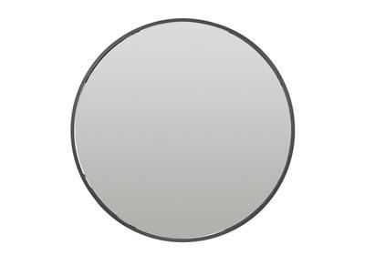 Runder Metallspiegel mit Staufach 60 cm DOT