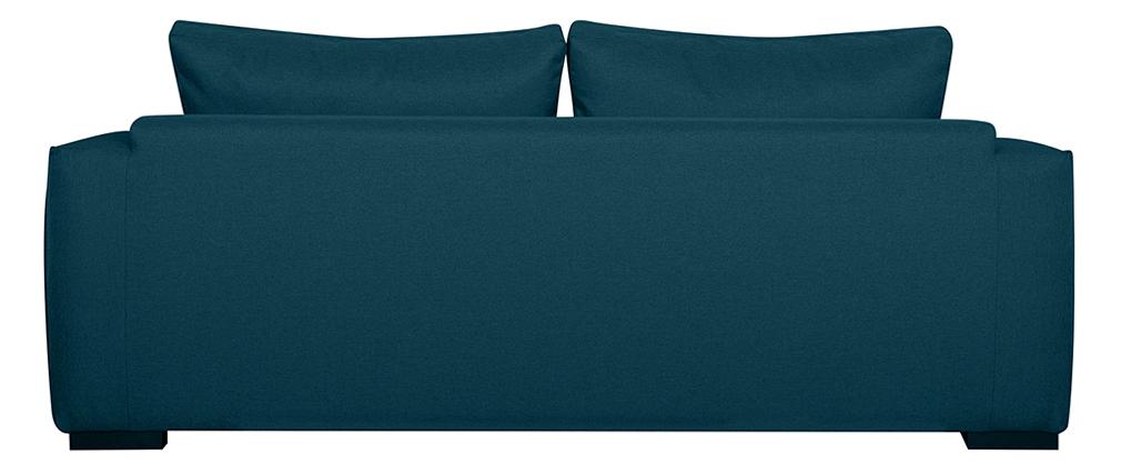 Schlafsofa 3 Plätze blaugrün BOLI