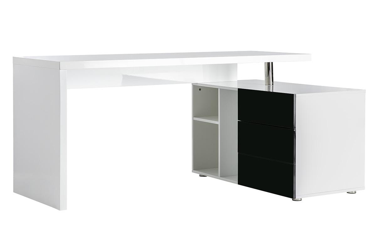 schreibtisch schwarz weiss com forafrica. Black Bedroom Furniture Sets. Home Design Ideas