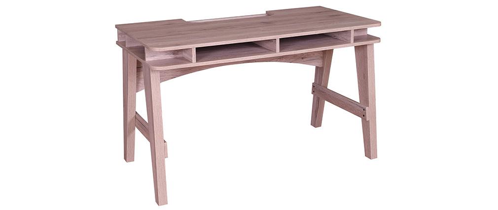 Schreibtisch mit Stauraum in Holzdekor ACE