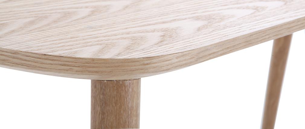 Schreibtisch Holz Cm : Schreibtisch skandinavisch cm holz swift miliboo