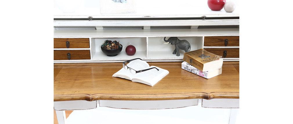 schreibtisch sofia barock holz weiss miliboo. Black Bedroom Furniture Sets. Home Design Ideas