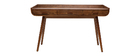 Schreibtisch Vintage Holz Nussbaum HALLEN