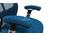 Schreibtischsessel ergonomisch Blau ULTIMATE V2 plus