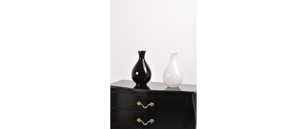 schwarze vase rassur miliboo. Black Bedroom Furniture Sets. Home Design Ideas