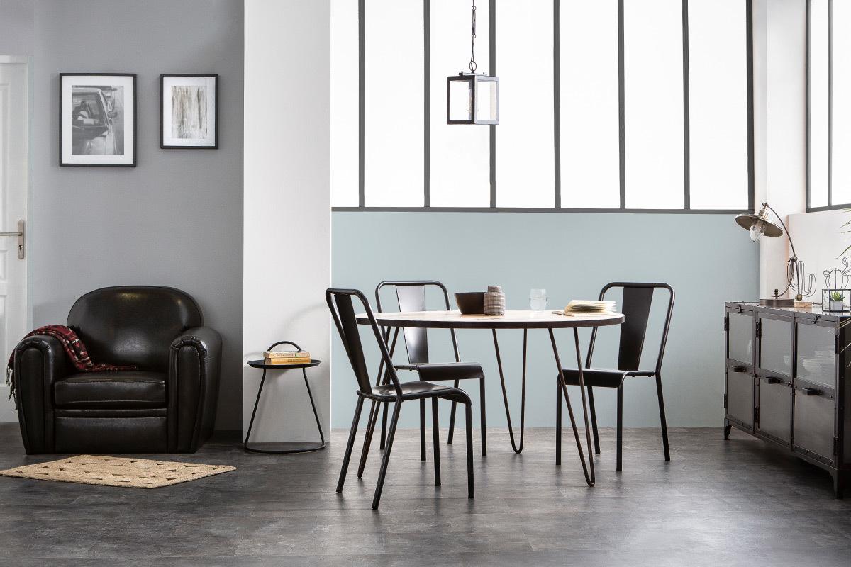 schwarzer sessel m belideen. Black Bedroom Furniture Sets. Home Design Ideas