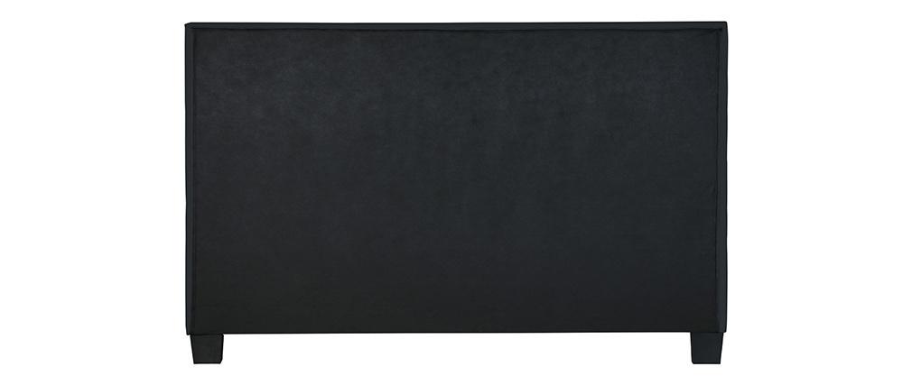 Schwarzes Bett für Erwachsene SOLAL 160 x 200 cm