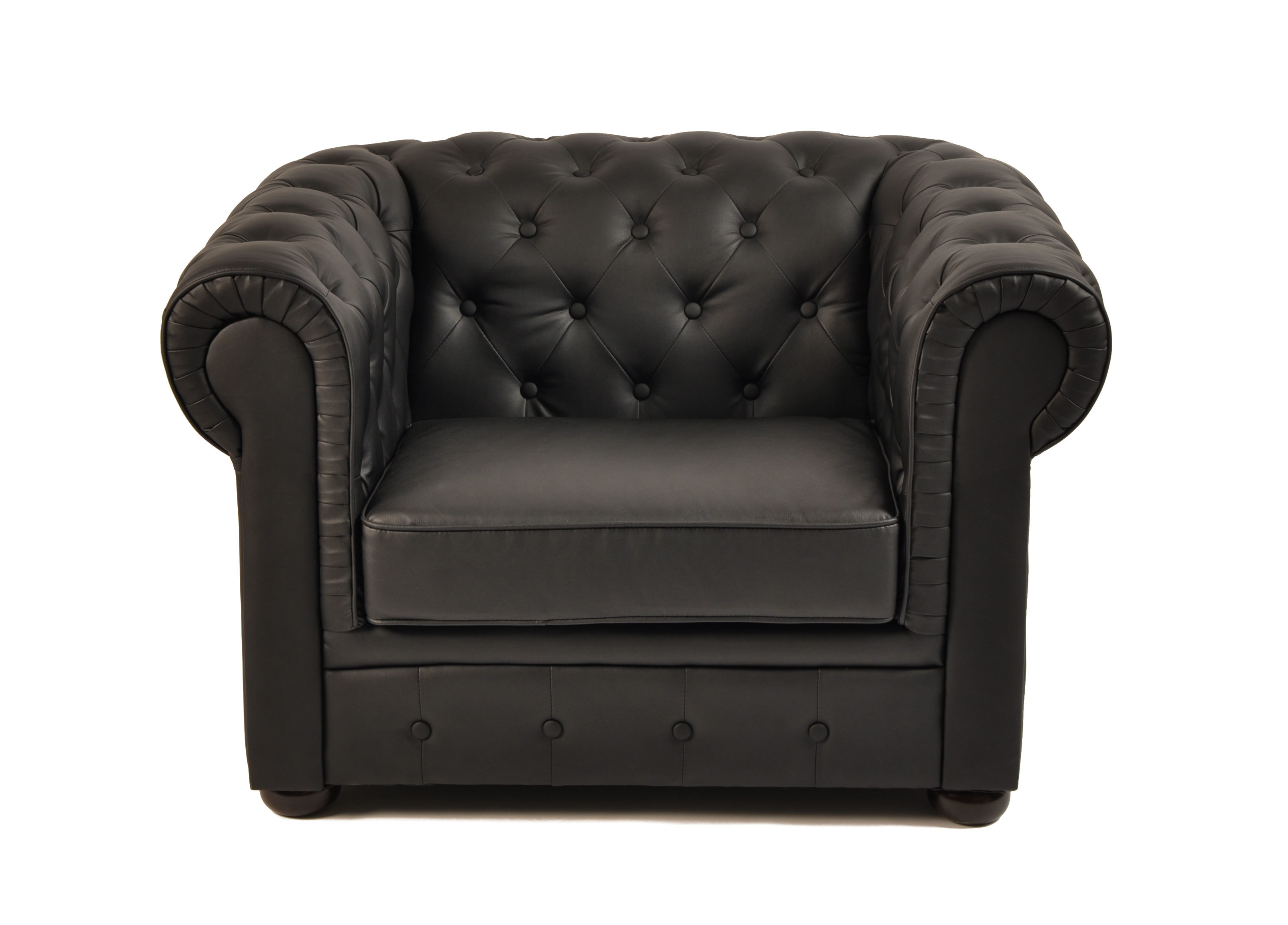 sessel chesterfield schwarz miliboo. Black Bedroom Furniture Sets. Home Design Ideas