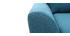 Sessel Skandinavisch Stoff Blaugrün ALICE