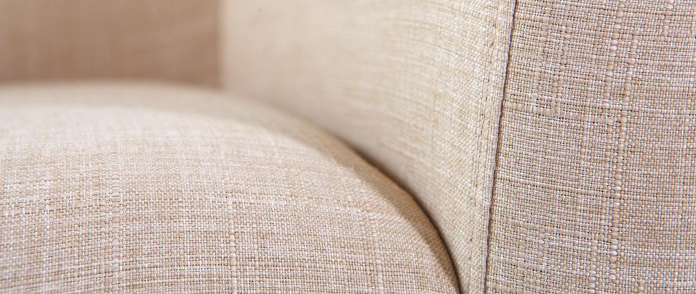 sessel skandinavisches design stoff naturfarben artik. Black Bedroom Furniture Sets. Home Design Ideas