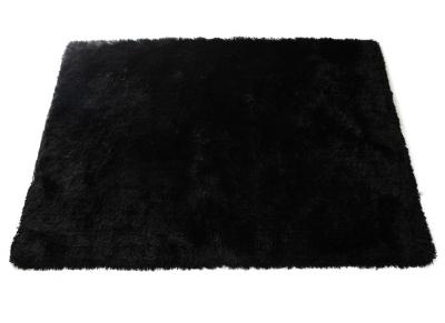 Shaggy-Teppich Schwarz 160 cm x 230 cm UGO