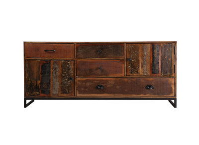 Sideboard 150 cm recyceltes Holz MADRAS