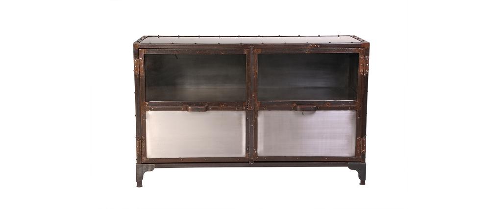Sideboard Industrie-Metall 2 Türen FACTORY
