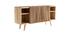 Sideboard mit Schiebetüren ALBA aus massivem Mangoholz