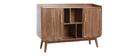 Sideboard Vintage Holz Nussbaum HALLEN