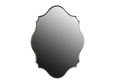 Silberner Messingspiegel 70x94 cm MAJORELLE