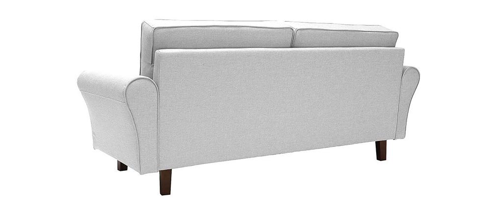Sofa 3 Plätze Grau SOFFA