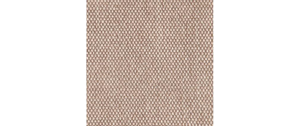 Sofa skandinavisches Design 3 Plätze Cremefarben SKANDI